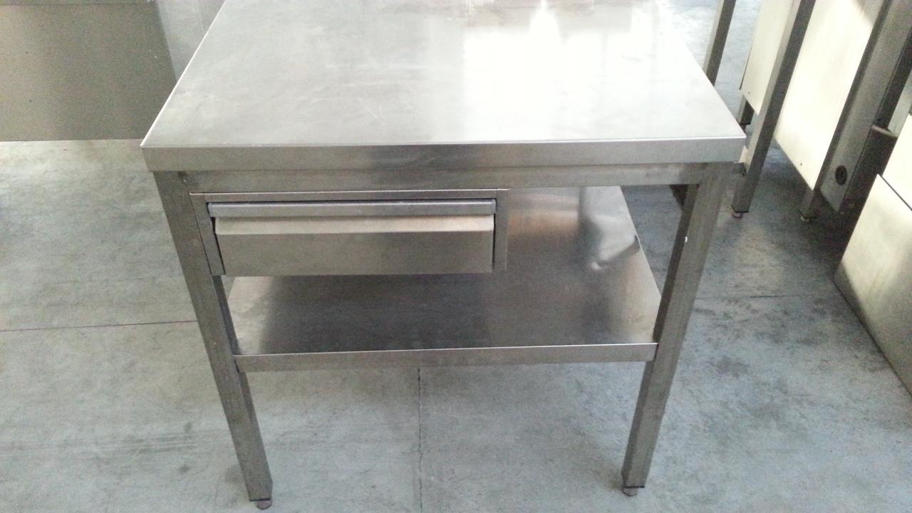 Tavolo inox pr 289 10 usato - Tavolo acciaio inox usato ...