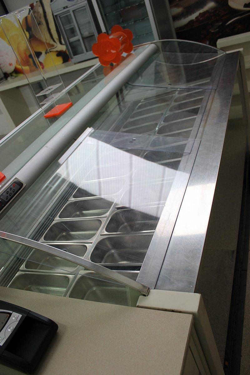 Arredamento completo per bar gelateria ar 70 10 usato for Arredamento bar usato milano